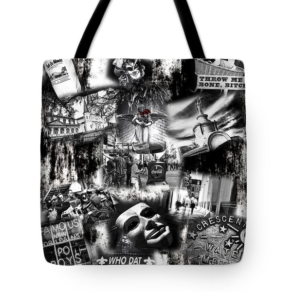 Tote Bag featuring the photograph Nawlins by John Rizzuto