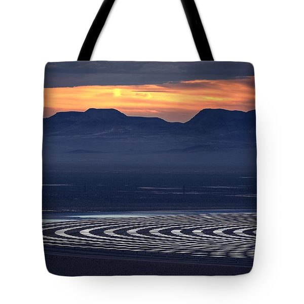 Nay For Fossil Fuel. Yea For Renewable Energy Tote Bag