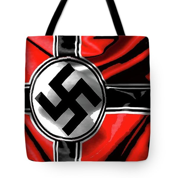 Nazi Flag Color Added 2016 Tote Bag
