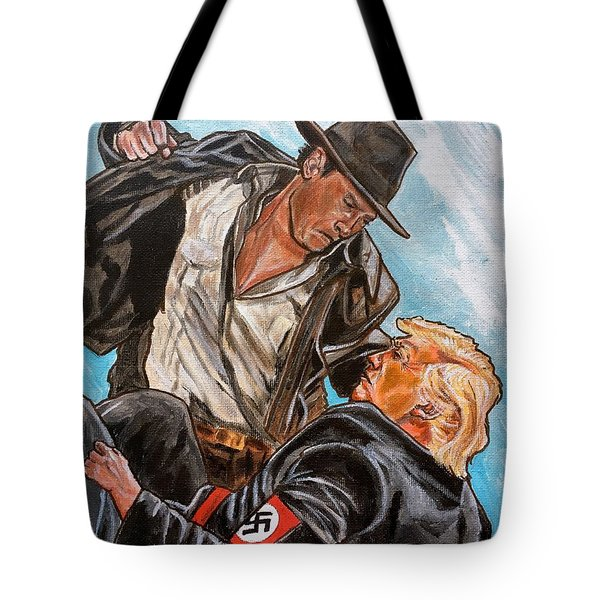 Nazis. I Hate Those Guys. Tote Bag