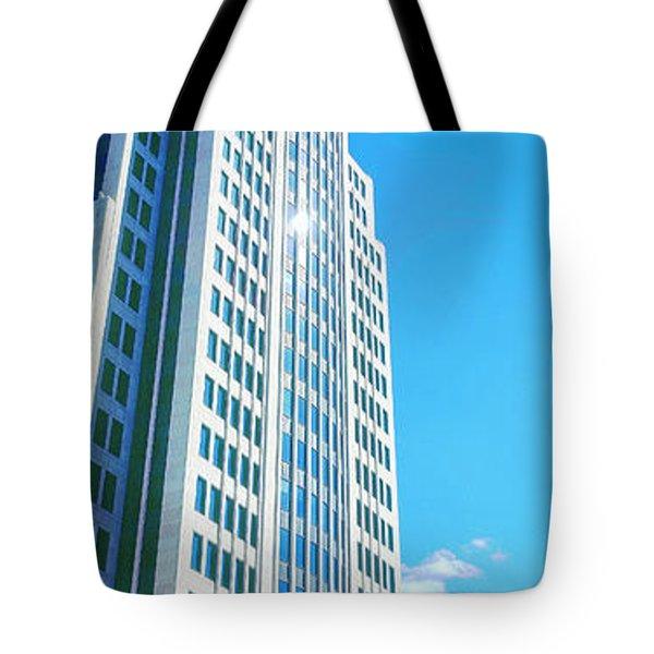 Nbc Tower Tote Bag
