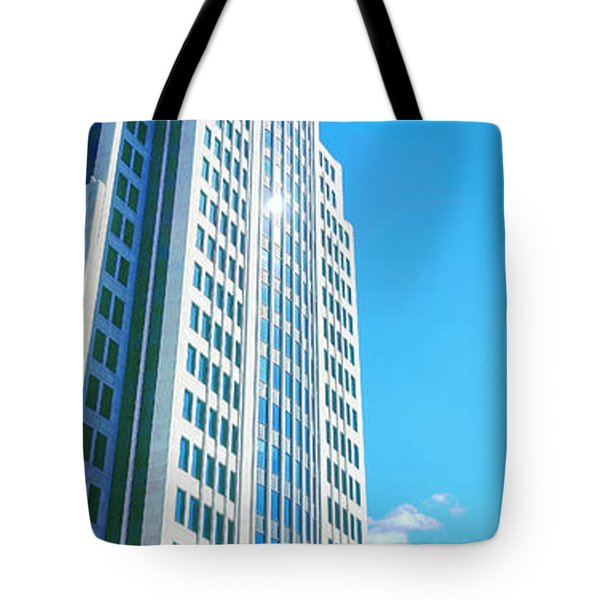 Nbc Tower Tote Bag