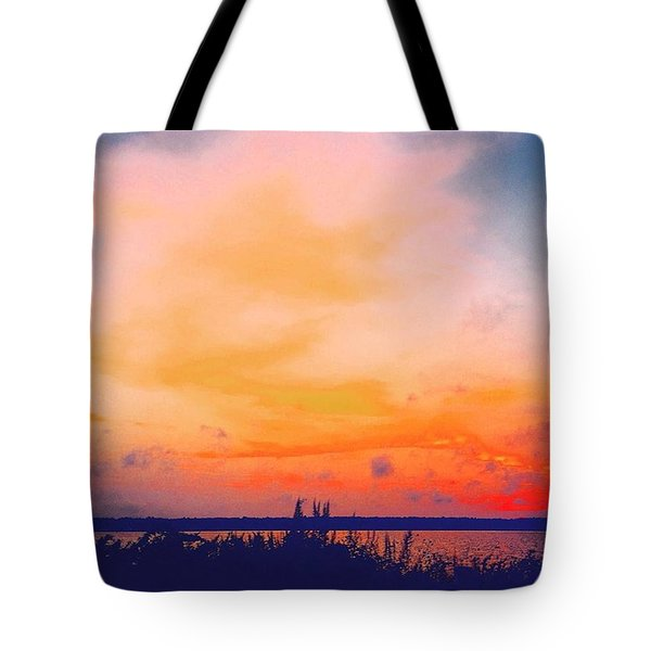 Southcoast Sunset Tote Bag