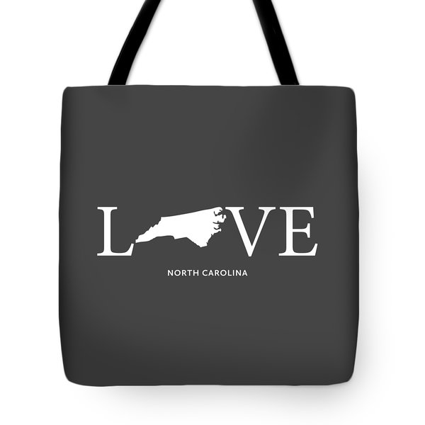 Nc Love Tote Bag by Nancy Ingersoll