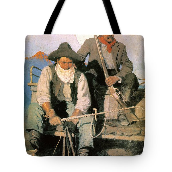 N.c. Wyeth: The Pay Stage Tote Bag by Granger