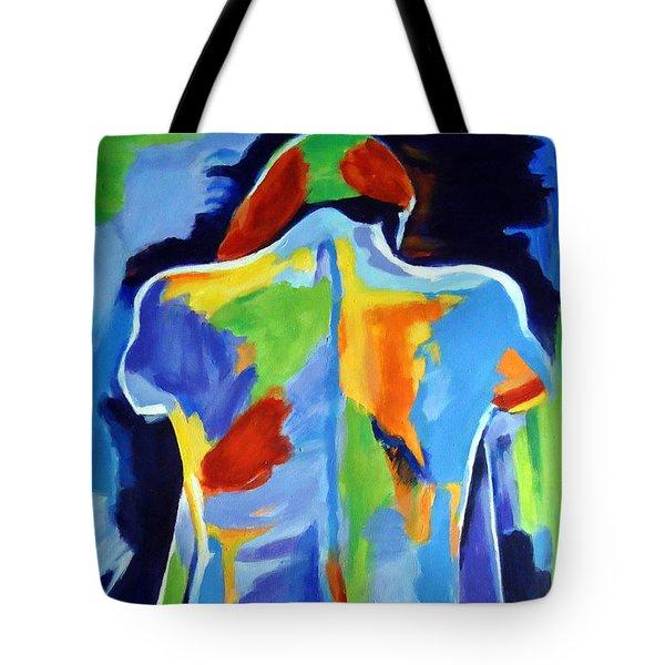 Ne Me Quitte Pas Tote Bag by Helena Wierzbicki