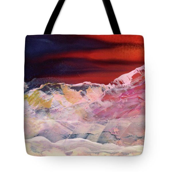 Near Arrow Mountains Tote Bag