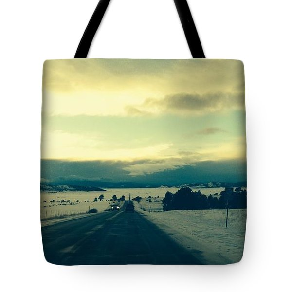 Near Hartsel Tote Bag by Christin Brodie