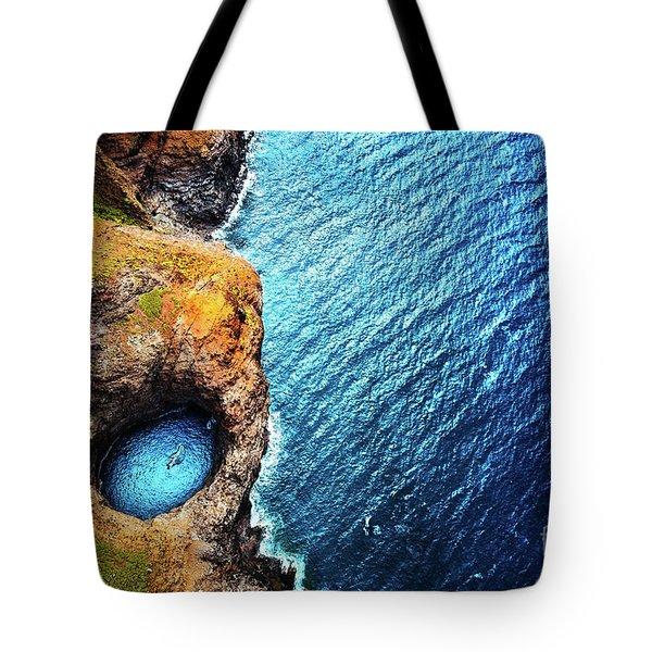 Napali Coast Tote Bag