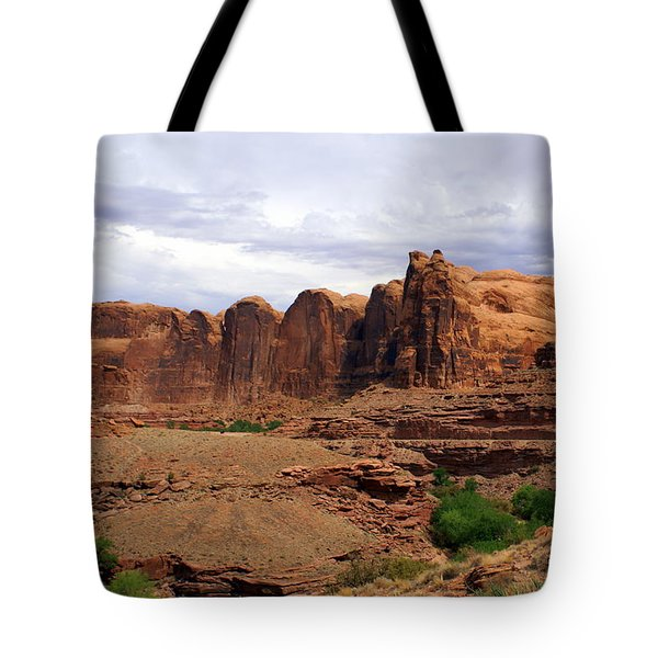 Near Moab 4 Tote Bag by Marty Koch