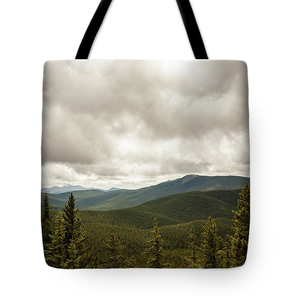 Near Monarch Pass At The Continental Divide Tote Bag