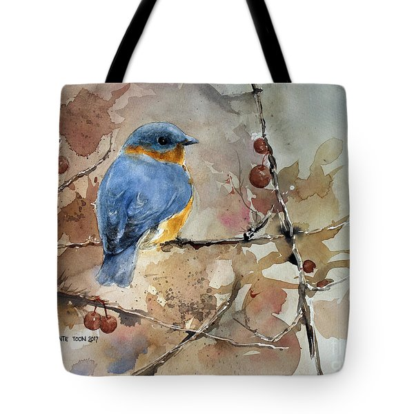 Near Spring Tote Bag by Monte Toon