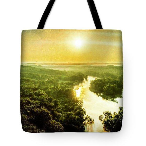 Near Table Rock Lake Tote Bag