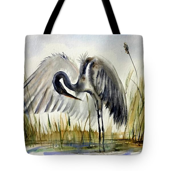 Near The Pond 3 Tote Bag