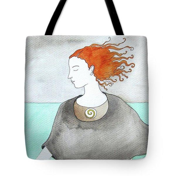 Near The Sea Tote Bag