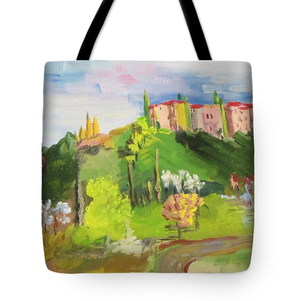 Near Tuscany Tote Bag