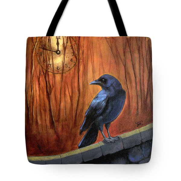 Nearing Midnight Tote Bag