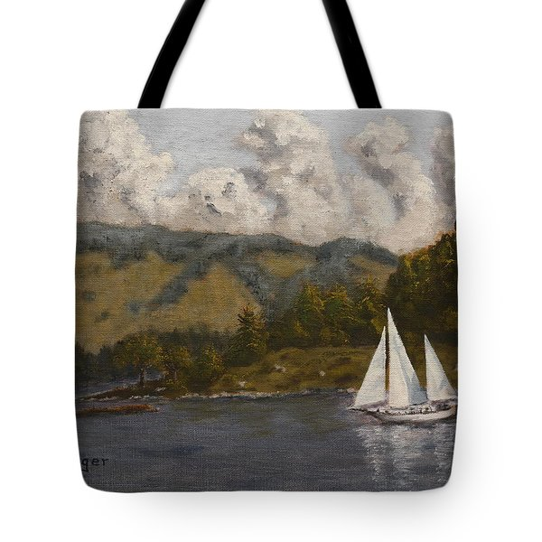Nearing The Point Tote Bag