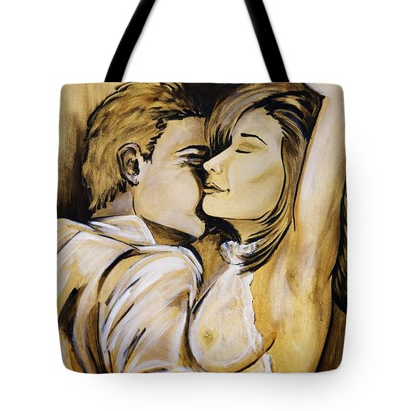 Nearly Naked Sepia Tote Bag