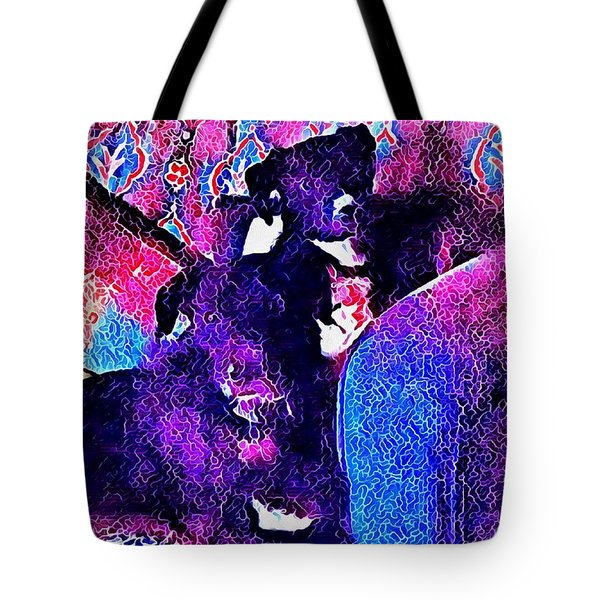 Nearly Time For A Walk Mum Tote Bag