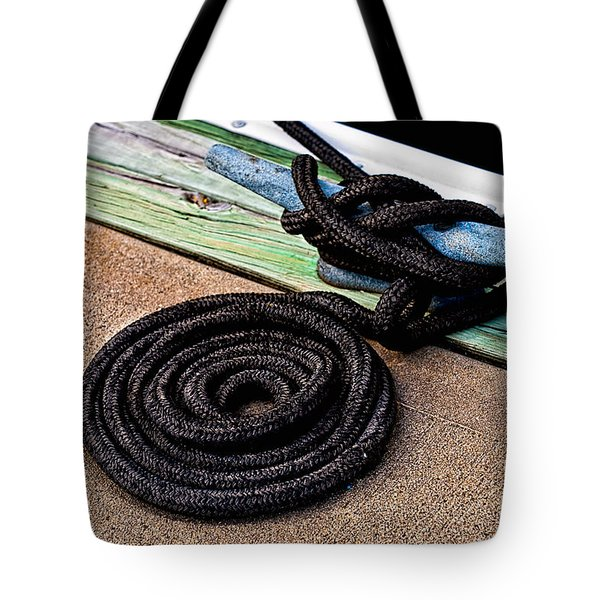 Neatly Tied Tote Bag by Christopher Holmes