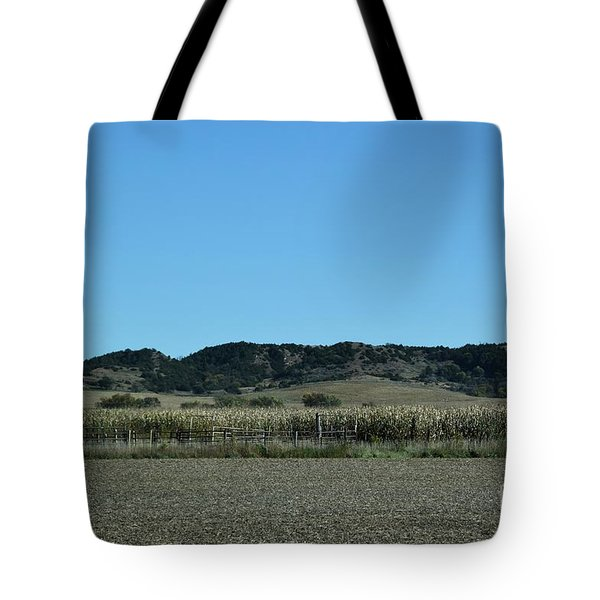 Nebraska Corn Field Tote Bag