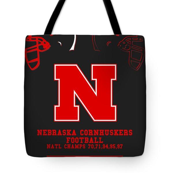 Nebraska Cornhuskers 2 Tote Bag