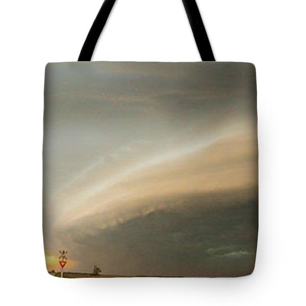 Nebraska Thunderstorm Eye Candy 020 Tote Bag