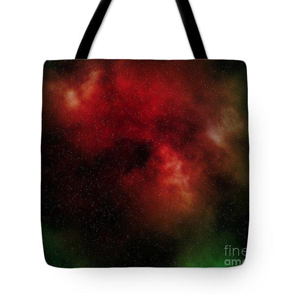 Nebula Tote Bag by Michal Boubin