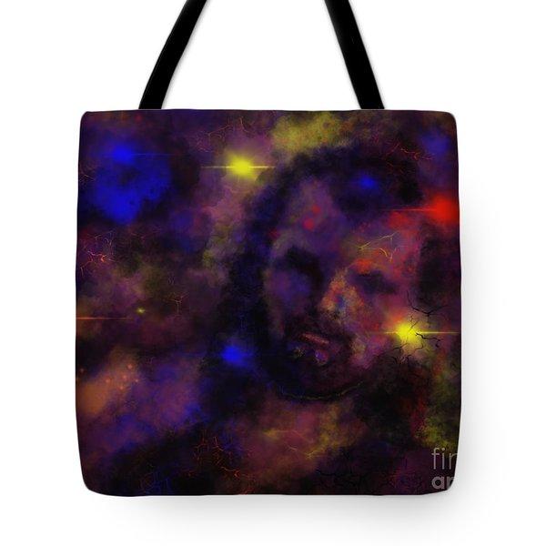 Nebula Rider Tote Bag