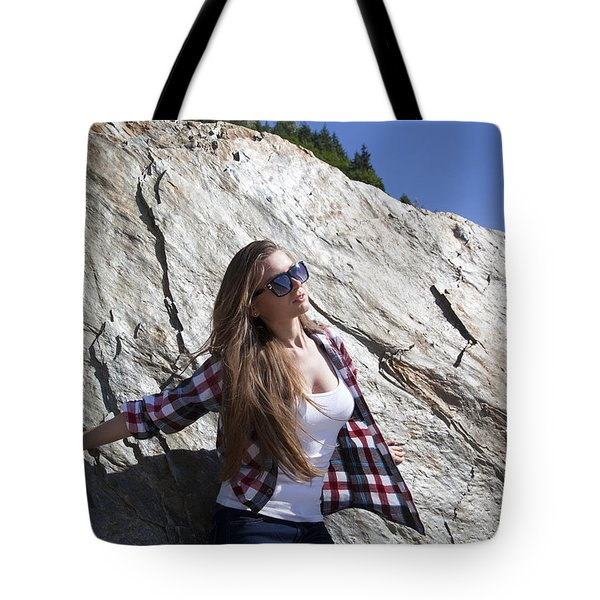 Necessity To Lean Tote Bag