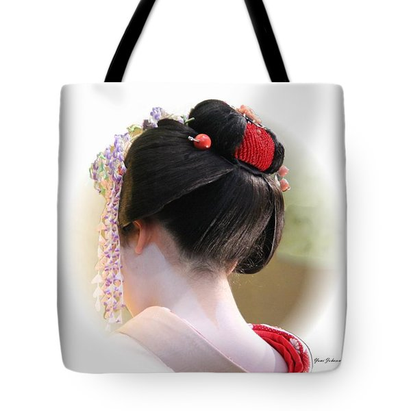 Tote Bag featuring the photograph Neck Line by Yumi Johnson