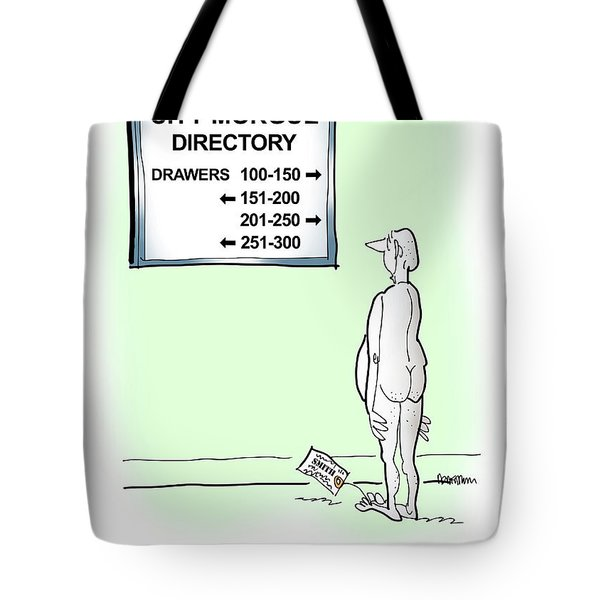 Tote Bag featuring the digital art Need Directions by Mark Armstrong