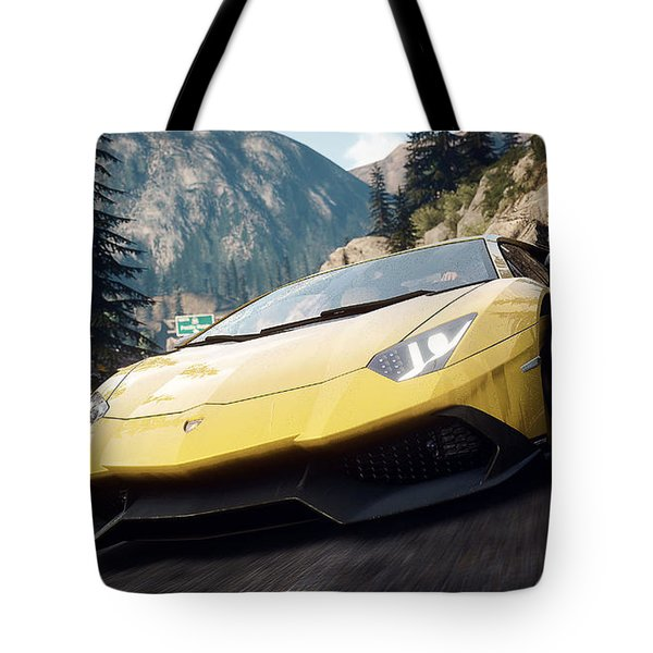 Need For Speed Rivals Tote Bag