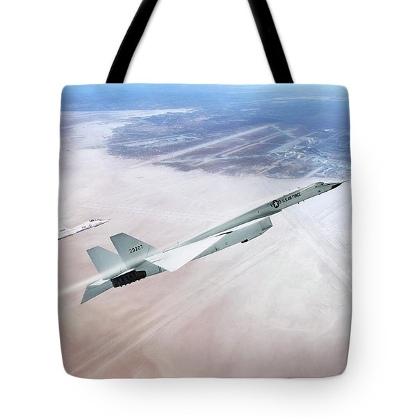 Need For Speed - Xb-70 Tote Bag