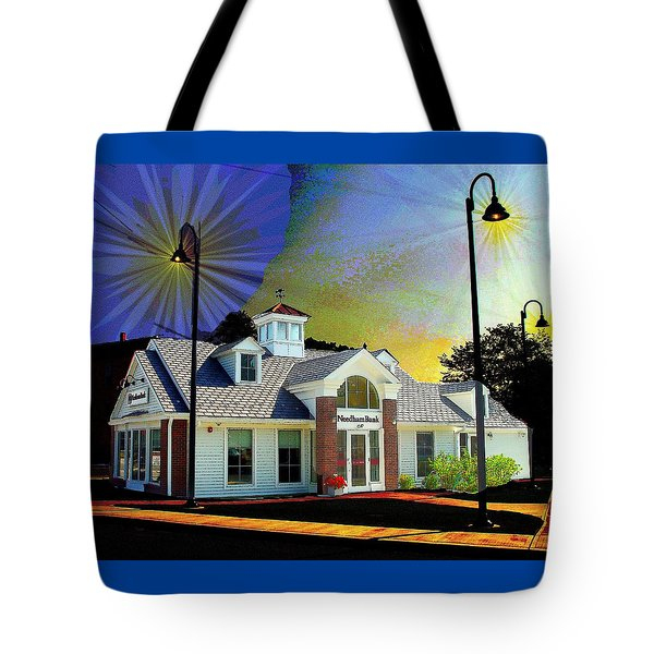 Needham Bank Ashland Ma Tote Bag