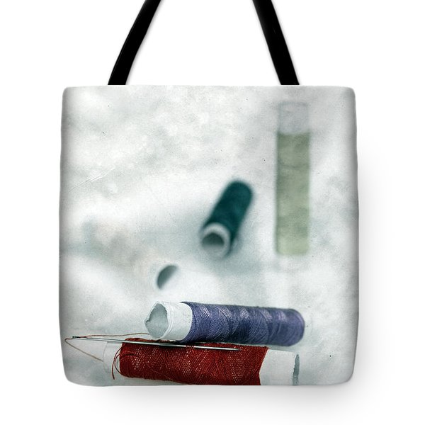 Needle And Thread Tote Bag by Joana Kruse