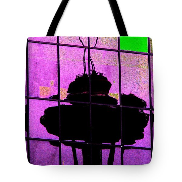 Needle Reflect 2 Tote Bag by Tim Allen