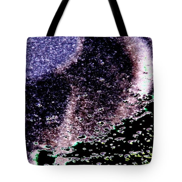 Needle Reflect Tote Bag by Tim Allen