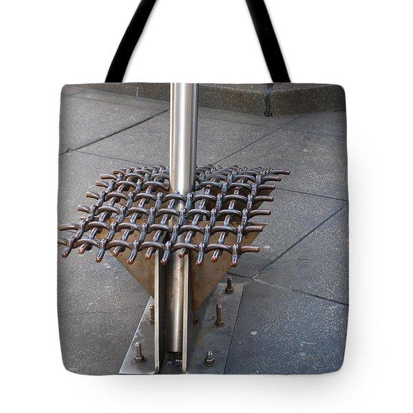 Needle  Tote Bag by Rob Hans