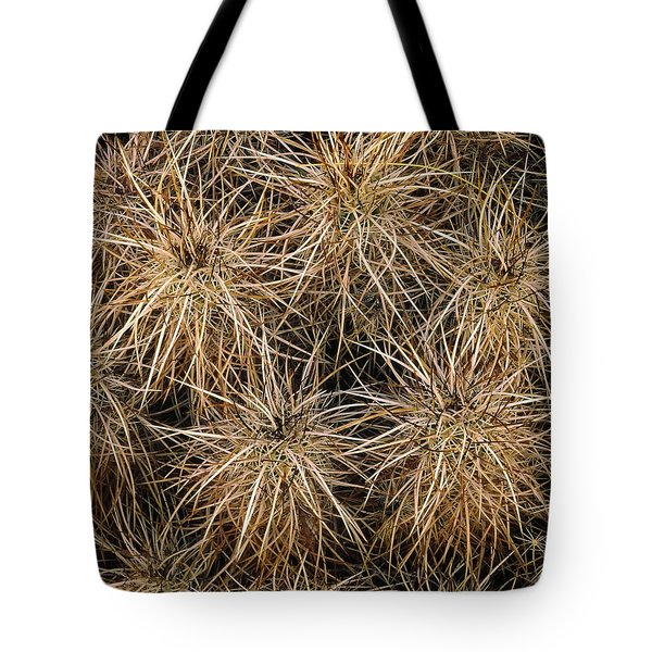 Needles And Hay Stacks Tote Bag