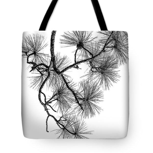 Needles II Tote Bag