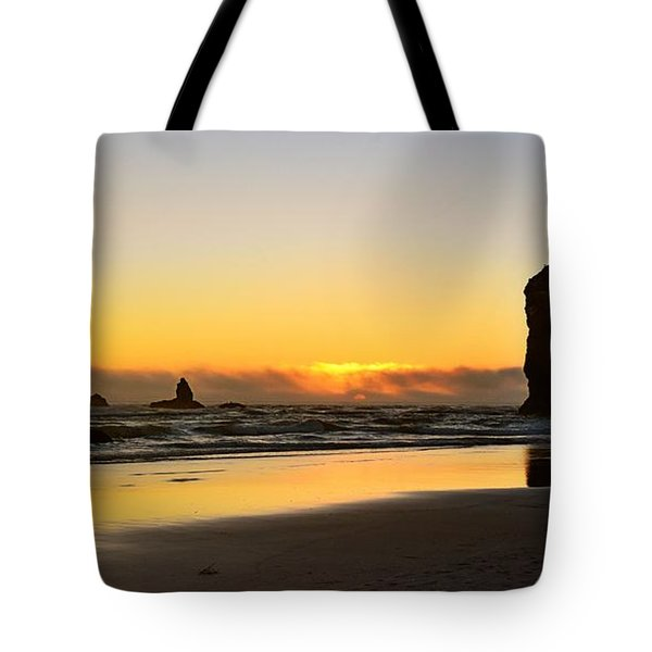Needles Sunset Tote Bag