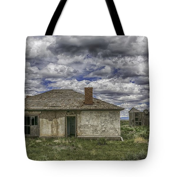 Tote Bag featuring the photograph Needs Work by Bitter Buffalo Photography