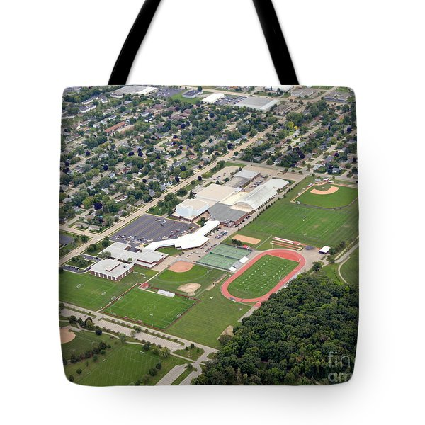 Tote Bag featuring the photograph Neenah H.s. by Bill Lang
