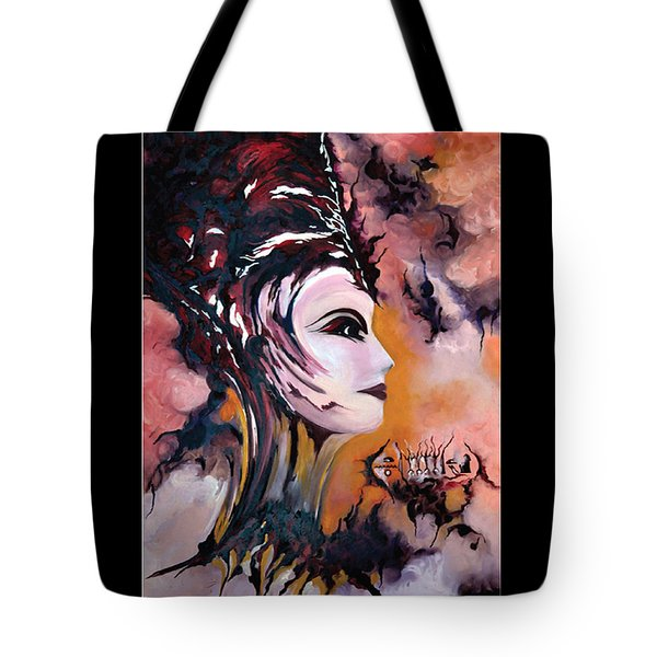 Nefertiti - Act With Modern Elegance Tote Bag