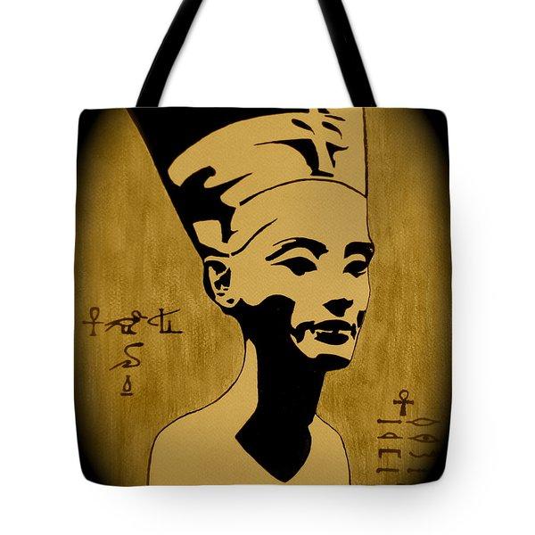 Nefertiti Egyptian Queen Tote Bag