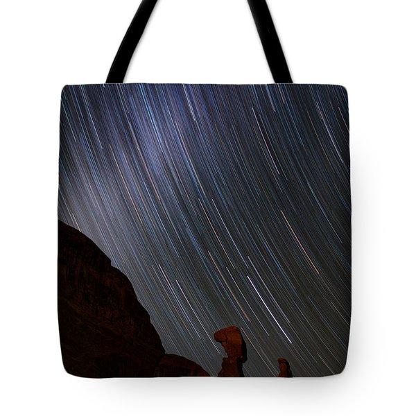 Nefertiti Slide Tote Bag