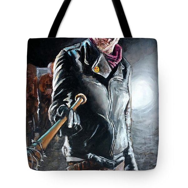 Negan Tote Bag by Tom Carlton