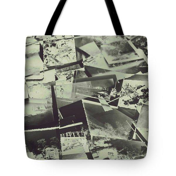 Negative Film Photo Background Tote Bag